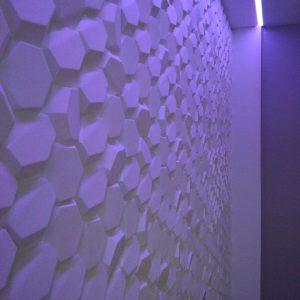 3D панель Соты